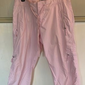 Pants - Calvin Klein Pink Capris